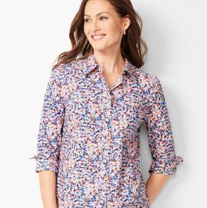 Talbots Women's Floral Shirt Size M